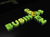 Gröna affärer — Stockfoto