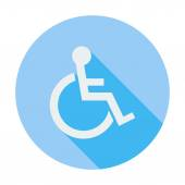 Disabled single icon. — Stock Vector