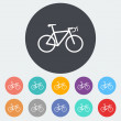Bicycle icon. — Stock Vector #53604033