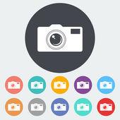 Icon camera. — Stock Vector