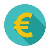Euro icon. — Stock Vector