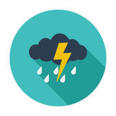 Storm icon — Stock Vector