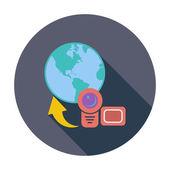Upload video — Stock Vector