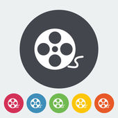 Rolo de ícone de filme — Vetorial Stock