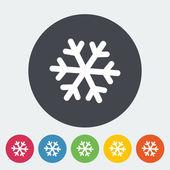символ снежинки. — Cтоковый вектор