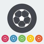 Soccer ball — Stockvektor