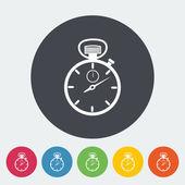 Stopwatch icon. — Stockvektor