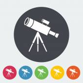 Telescope — Vetorial Stock