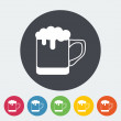 Beer icon — Stock Vector #54439315