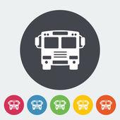 Autobus ikona. — Wektor stockowy