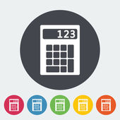 Calculator icon. — Stock Vector