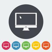 Monitor icon. — Stock Vector