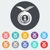 Icon medal. — Stock Vector