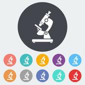 Mikroskop — Stock vektor