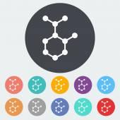 Molekül — Stockvektor