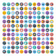 Social media and network icons — Stock Vector #56135809