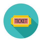 Ticket. — Stock Vector
