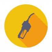Refueling nozzle icon. — Stock Vector