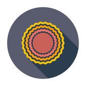 ícone de sol — Vetorial Stock