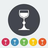 Wine icon — Stock Vector