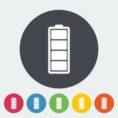 Full battery — Cтоковый вектор