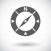 Compass icon. — Stock Vector