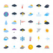 Weather icons — Stock Vector #79312372