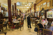 Cafe Tortoni — Stockfoto