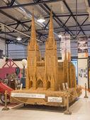 Church Made of Wheat — Stock Photo