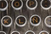 Typewriter Spanish Keyboard — Fotografia Stock