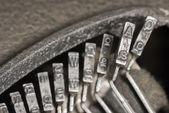 タイプライター Typebars A — ストック写真