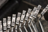 Typewriter Typebars A 05 — Stock Photo