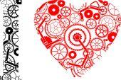 Mechanic love — Stock Vector