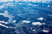 Sky, clouds and water — Stock Photo