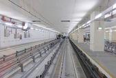 Dubai airport subway — ストック写真