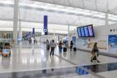 Flygplatsen interiör — Stockfoto