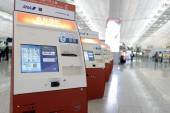 Check-in kiosks — Stock Photo