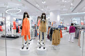 Shopping store in ShenZhen — Stock Photo