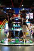 Game club interior — Stock Photo