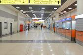 Interior Aeropuerto Sheremetyevo — Foto de Stock