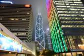 Hong Kong downtown skyscrapers — Stockfoto