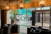 Cafe interior in airport — Foto de Stock
