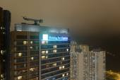 Holiday Inn hotel in Hong Kong — Stockfoto