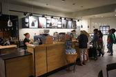 Starbucks Cafe innen — Stockfoto