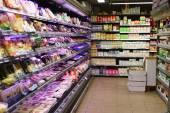 领袖价格超市室内 — 图库照片