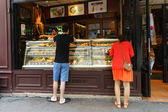 Paris  cafe exterior — Stok fotoğraf