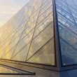 Louvre Palace and  Pyramid — Stock Photo #63300765