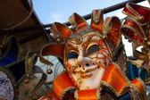 Negozio maschera carnevale di Venezia — Foto Stock