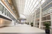 Intérieur de l'aéroport de Hong Kong — Photo