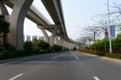 Longgang District in Shenzhen — Stock Photo